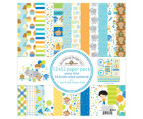 Doodlebug Design Party Time 12x12 Inch Paper Pack (6691)