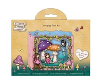 Gorjuss Faerie Friends Decoupage Card Kit (GOR 169133)