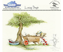 The Card Hut Lazy Days lear Stamps (CCMMLD)