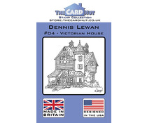 The Card Hut Victorian House Clear Stamps (CRDDL004)