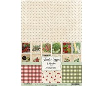 Reprint Fruits & Veggies Collection A4 Paper Pack (RBP004)