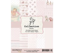 Reprint It´s a Girl Collection 6x6 Inch Paper Pack (RPP032)
