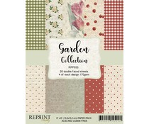Reprint Garden Collection 6x6 Inch Paper Pack (RPP033)