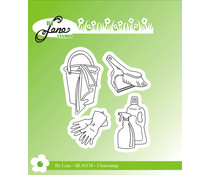 By Lene Cleaning Stuff Clear Stamps (BLS1138)
