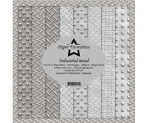 Paper Favourites Industrial Metal 6x6 Inch Paper Pack (PF126)