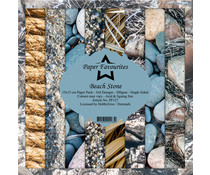 Paper Favourites Beach Stone 6x6 Inch Paper Pack (PF127)