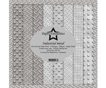 Paper Favourites Industrial Metal 12x12 Inch Paper Pack (PF326)