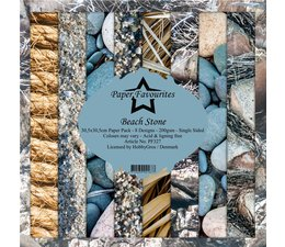 Paper Favourites Beach Stone 12x12 Inch Paper Pack (PF327)
