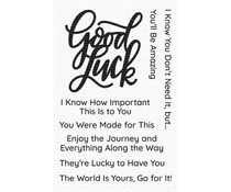My Favorite Things Good Luck Greetings Clear Stamps (CS-468)