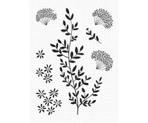 My Favorite Things Dandelion Greenery Clear Stamps (CS-474)