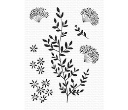 My Favorite Things Dandelion Greenery Clear Stamps (CS-474)