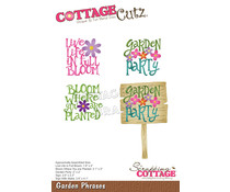 Scrapping Cottage Garden Phrases (CC-748)