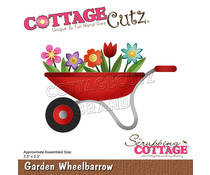Scrapping Cottage Garden Wheelbarrow (CC-749)