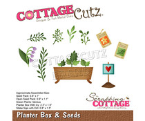 Scrapping Cottage Planter Box & Seeds (CC-752)
