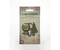 Mitform Travel 2 Metal Embellishments (MITS050)