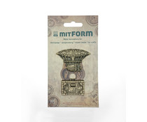 Mitform Travel 3 Metal Embellishments (MITS051)