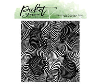 Picket Fence Studios Exotic Leaves Clear Stamps (F-134)