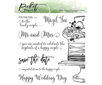Picket Fence Studios To the Lovely Couple Clear Stamps (F-137)