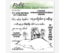 Picket Fence Studios You or WiFi Clear Stamps (BB-136)