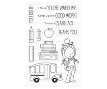 My Favorite Things Class Act Clear Stamps (BB-102)