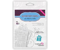 Scrapbook Adhesives 3D Foam Party Shapes (40pcs) (01221)
