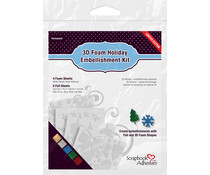 Scrapbook Adhesives 3D Foam Holiday Embellishment Kit (01224)