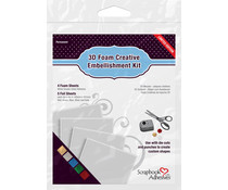 Scrapbook Adhesives 3D Foam Creative Embellishment Kit (01225)