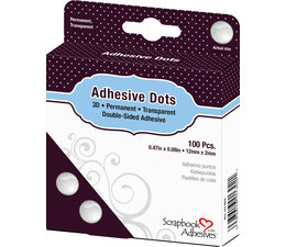 Scrapbook Adhesives Adhesive Dots 3D (100pcs) (01302)