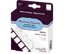 Scrapbook Adhesives Mounting Squares White (1000pcs) (01608)