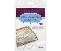 Scrapbook Adhesives Keepsake Envelopes Mix (10pcs) (01662)