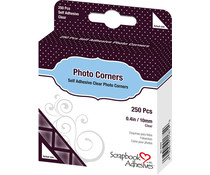Scrapbook Adhesives Photo Corners Clear (250pcs) (01674)