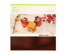 Cricut Kraft Board 12x12 Inch Foil Jewels Sampler (2005941)
