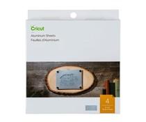 Cricut Aluminium Sheets 4x4 Inch Silver (2007461)