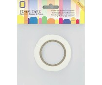 JEJE Produkt Foam Tape 2 m x 12 mm x 0,5 mm (3.3005)