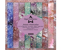 Paper Favourites Artistic Watercolour 6x6 Inch Paper Pack (PF131)