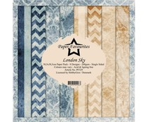 Paper Favourites London Sky 12x12 Inch Paper Pack (PF329)