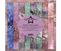 Paper Favourites Artistic Watercolour 12x12 Inch Paper Pack (PF331)