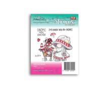 Polkadoodles Gnome More Bargains Clear Stamps (PD8072)