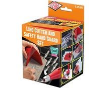 Essdee Lino Cutter & Safety Hand Guard Set (L5SSG)