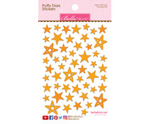 Bella BLVD Orange Mix Puffy Stars Stickers (BB1674)