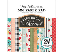 Echo Park Farmhouse Kitchen 6x6 Inch Paper Pad (FK216023)