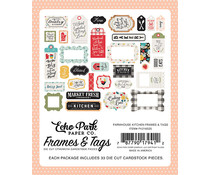 Echo Park Farmhouse Kitchen Frames & Tags (FK216025)