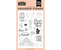 Echo Park Heart of the Home Clear Stamps (FK216040)