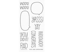 My Favorite Things All the Encouragement Clear Stamps (CS-481)