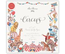 Craft Consortium Circus 6x6 Inch Paper Pad (CCPPAD017B)