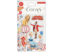 Craft Consortium Circus The Circus Clear Stamps (CCSTMP033)