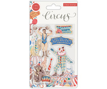 Craft Consortium Circus Greatest Show Clear Stamps (CCSTMP035)