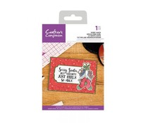 Crafter's Companion Sorry Santa Clear Stamps (CC-CA-ST-SRS)