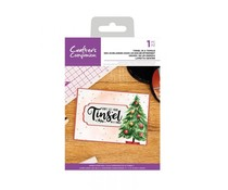 Crafter's Companion Tinsel In A Tangle Clear Stamps (CC-CA-ST-TIN)