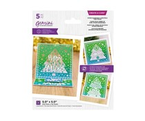 Gemini Interchangeable Christmas Tree Frame Create A Card (GEM-MD-CAD-ICF)